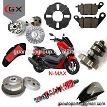 Motorcycle Scooter NMAX N-MAX Spare Parts Mirror Rocker Arm Cables Lever Clutch Shoe Gear Shaft Brake Disc Shock Absorber