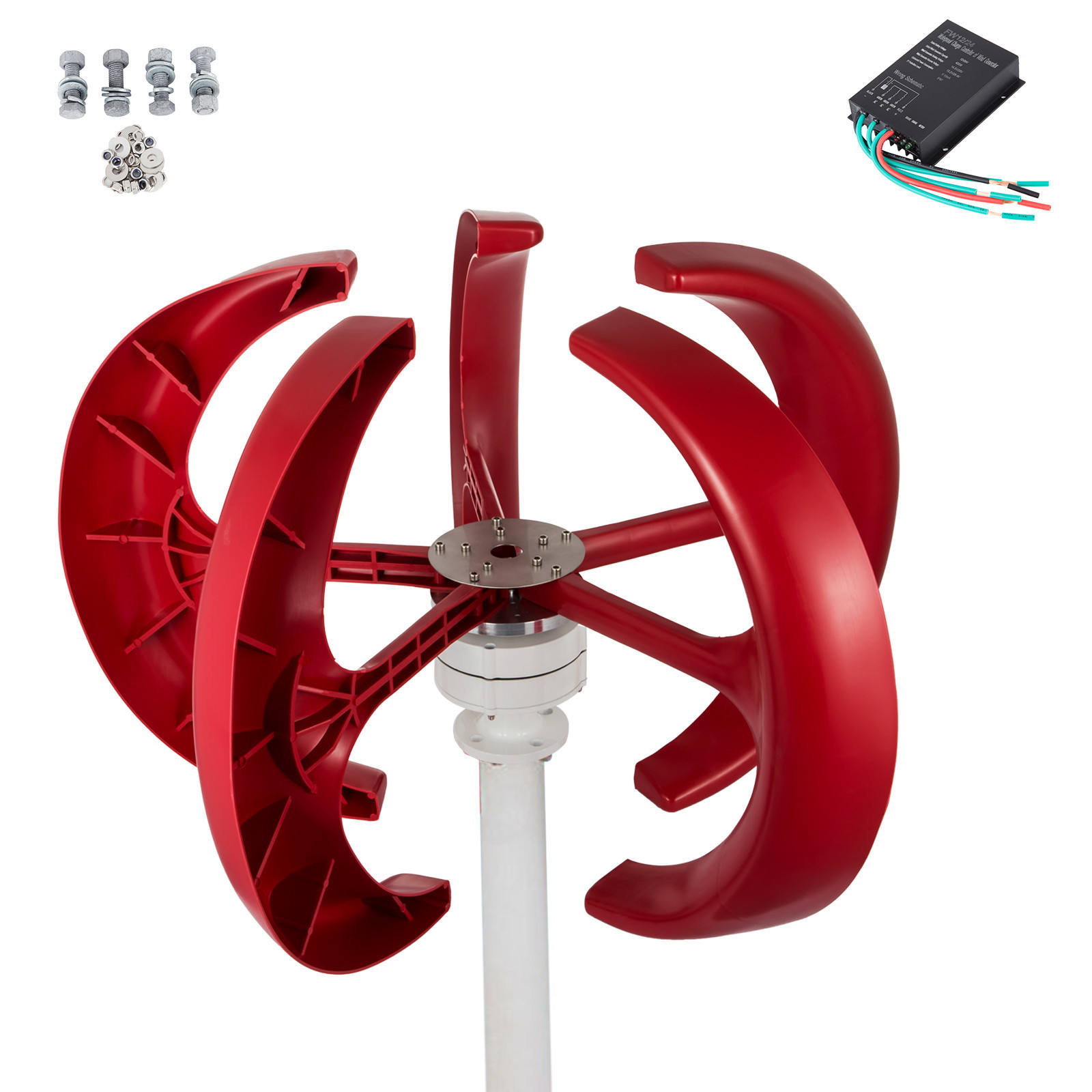 popular wind turbine 300W generator power filling grease best price