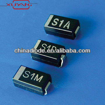 מיישר smd דיודות s1b s1a s1d s1g S1J S1K s1m smd דיודה 1n4002