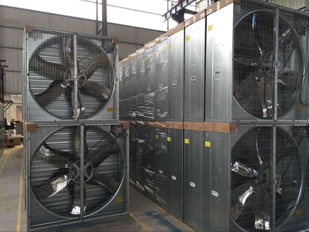 Industrial Ventilation Fan Glitter Chicken House Imported Paper Industrial Durable Ventilation Exhaust Fan