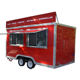 KN-400 stainless steel mobile food cart Mobile Hot Dog Carts/concession trailer/towable food trailer for sale