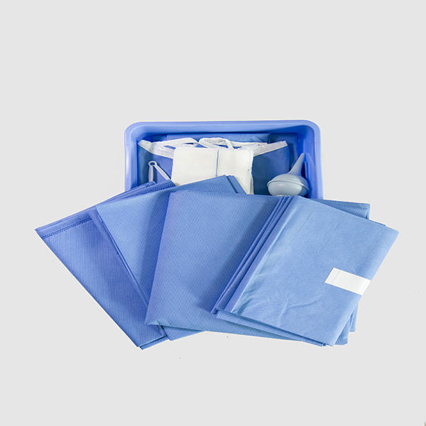 Disposable Sterile C-section incise surgical drape pack