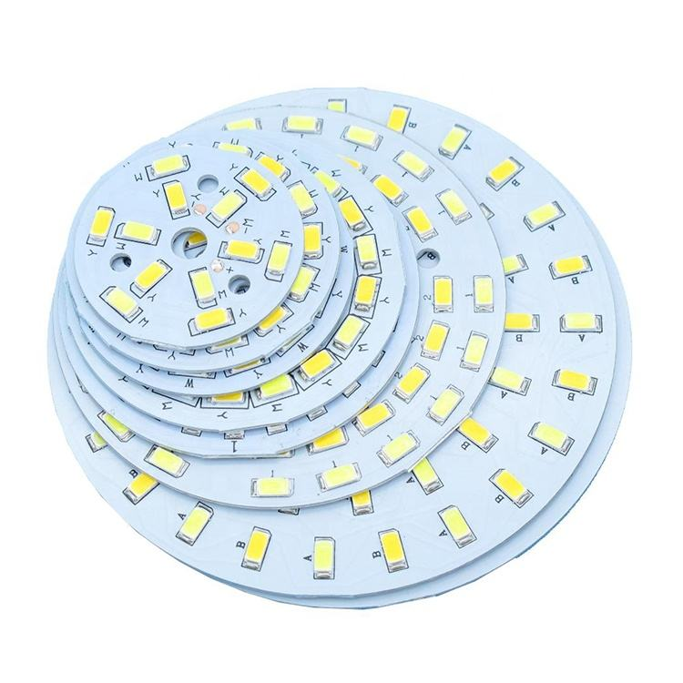 Electronic led buld pcb , led light 94v0 pcb board design