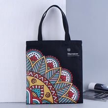 High Quality Factory Promotional Gifts Customized Black Cotton Tote Bag