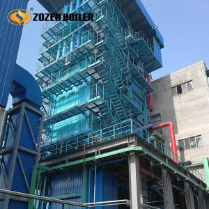 High pressure power plant 60 ton water tube steam boiler