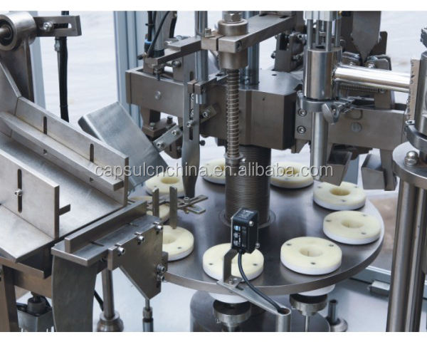 TF-60M Manual Plastic Ointment Tube Filling Machine