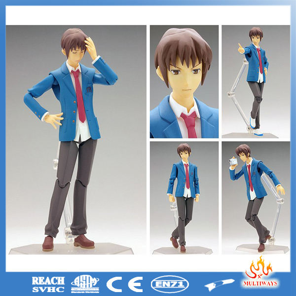 Wholesale 6 inch <span class=keywords><strong>pvc</strong></span> plastic action figure anime <span class=keywords><strong>oem</strong></span>, aangepaste ontwerp <span class=keywords><strong>pvc</strong></span> action figure