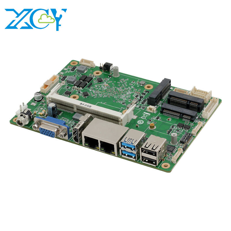 XCY motherboard processor i3 i5 i7 5500U J1900 Dual NIC RS485 RS232 ddr3 laptop motherboard mainboard pc