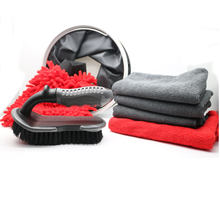 Professional Auto Tool Car Cleaning Set With Water Bucket