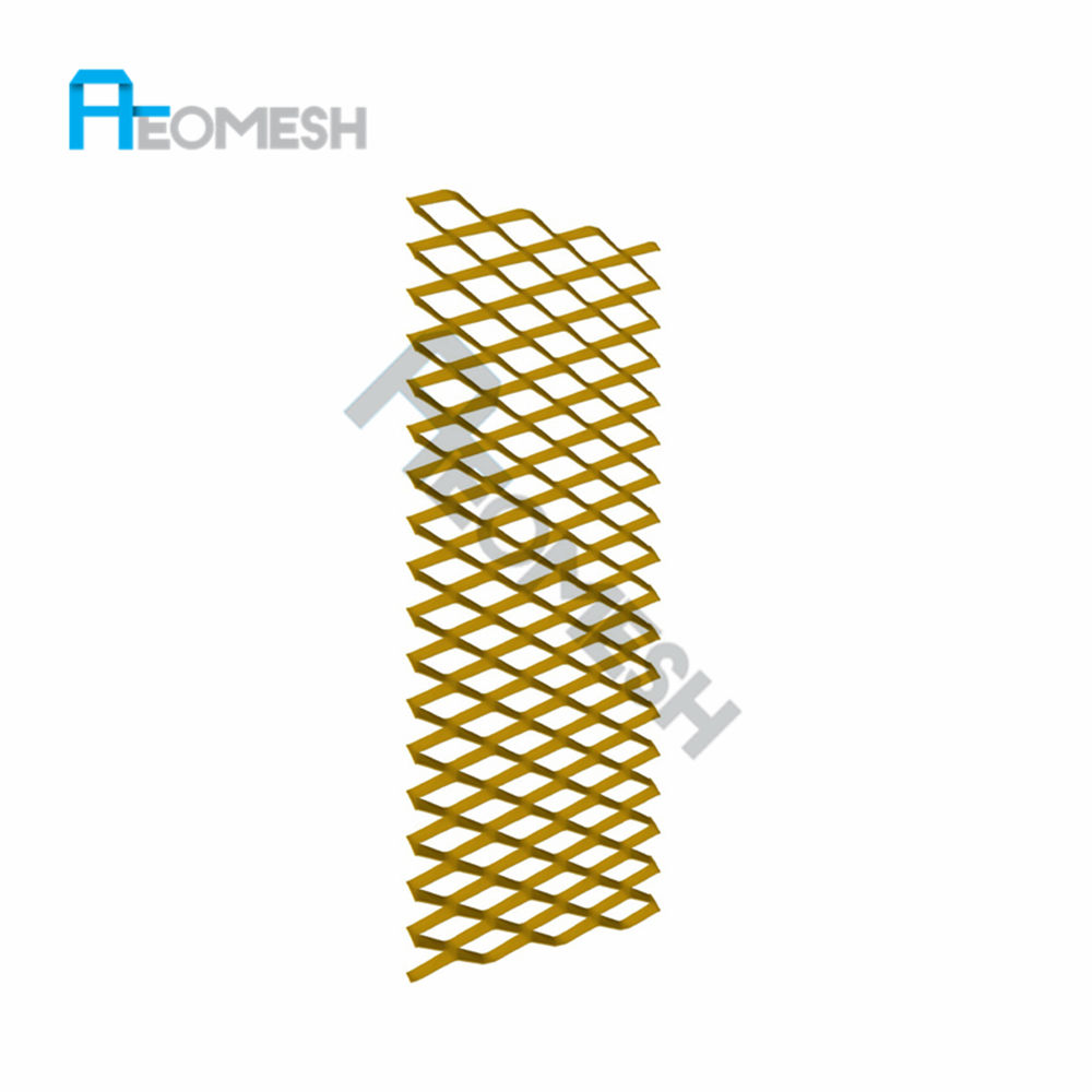 decorative expanded diamond metal screen mesh