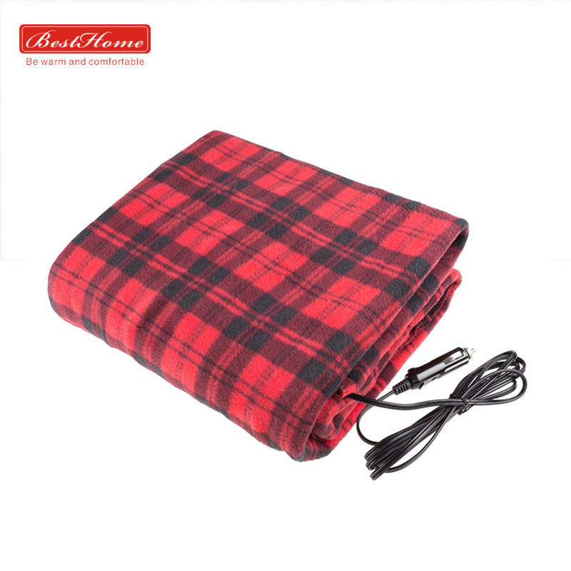 BSCI Approved Wholesale Supplier Washable Polar Fleece Electric Heated Thermal Blanket