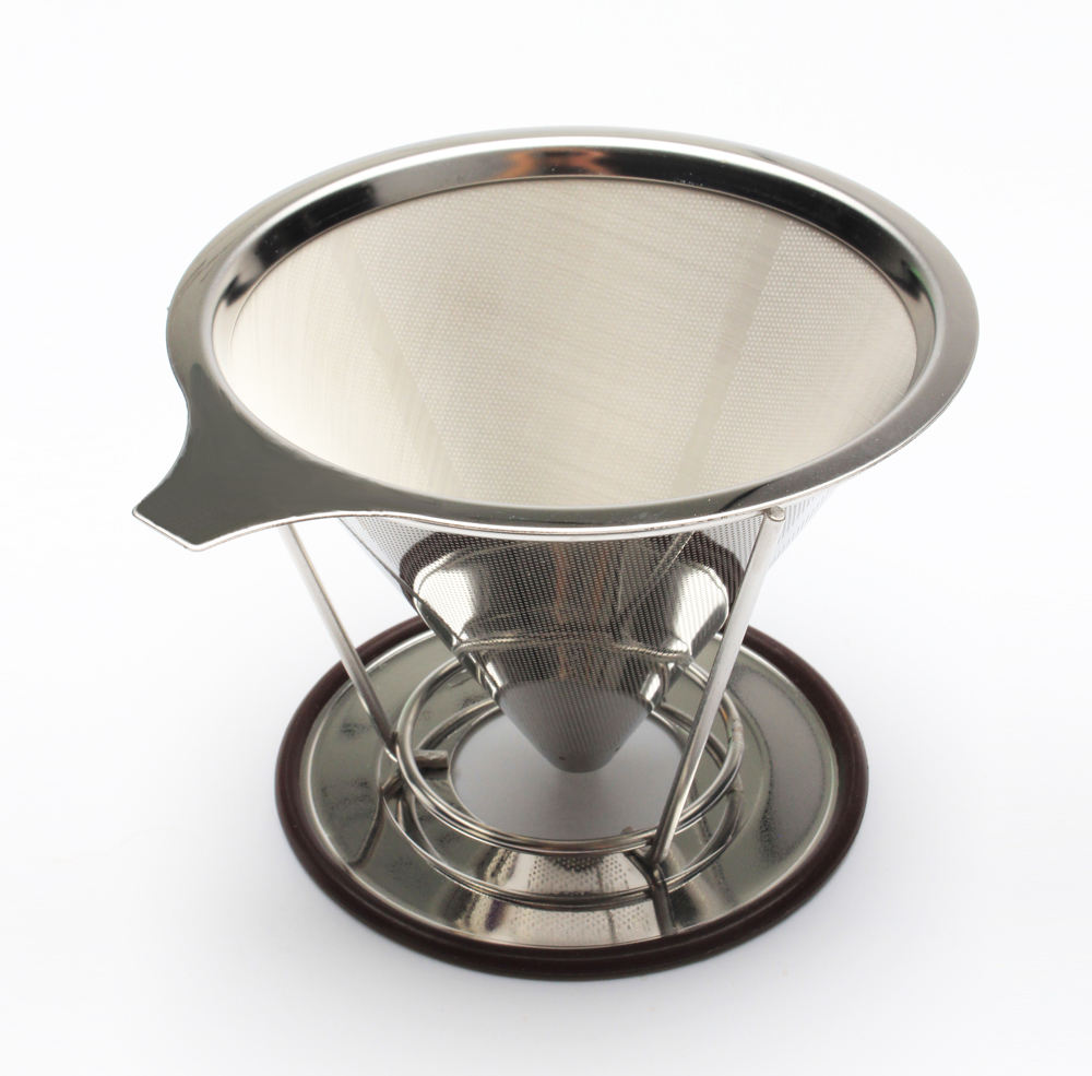 Vietnamese Paperless Mesh Drip Cold Brew Reusable Stainless Steel Coffee Filter