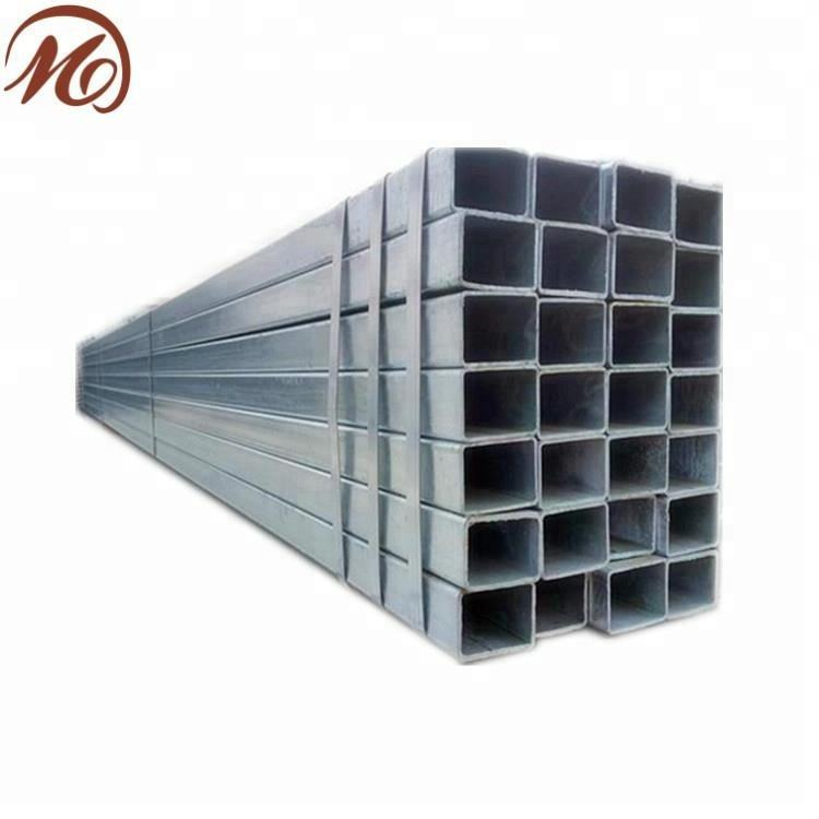 galvanized pipe/dn bs hot dip galvanized square steel pipe/tube supplier