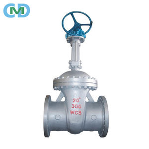 Flange End Cast Steel A216 WCB 20'' Class 300 Bevel Gear Gate Valve for Oil