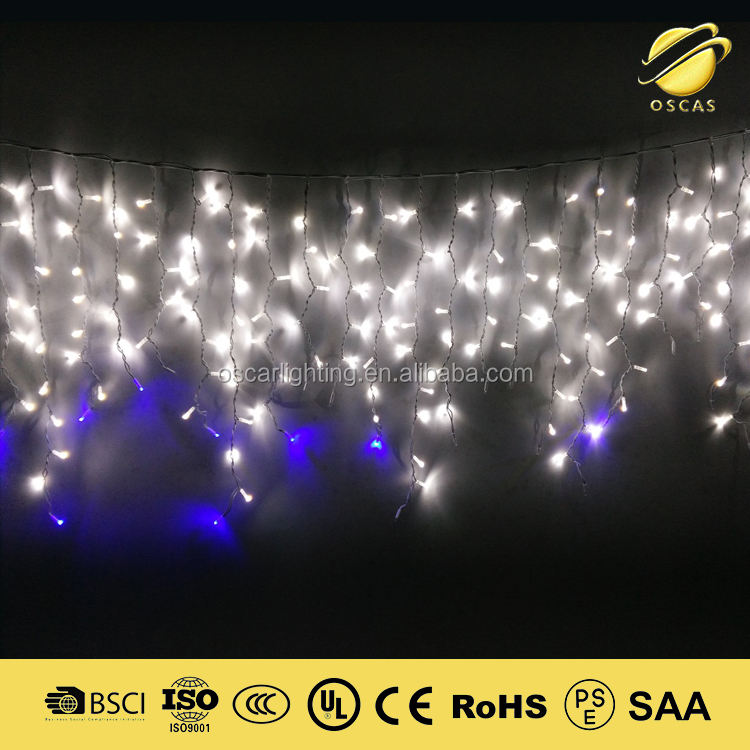 Led Xmas lichten Ijspegel Gordijn lichten outdoor IP65 waterdicht