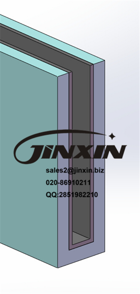 JINXIN laminated glass fixing balustrade u channel glass balustrade laminated tempered glass balustrade
