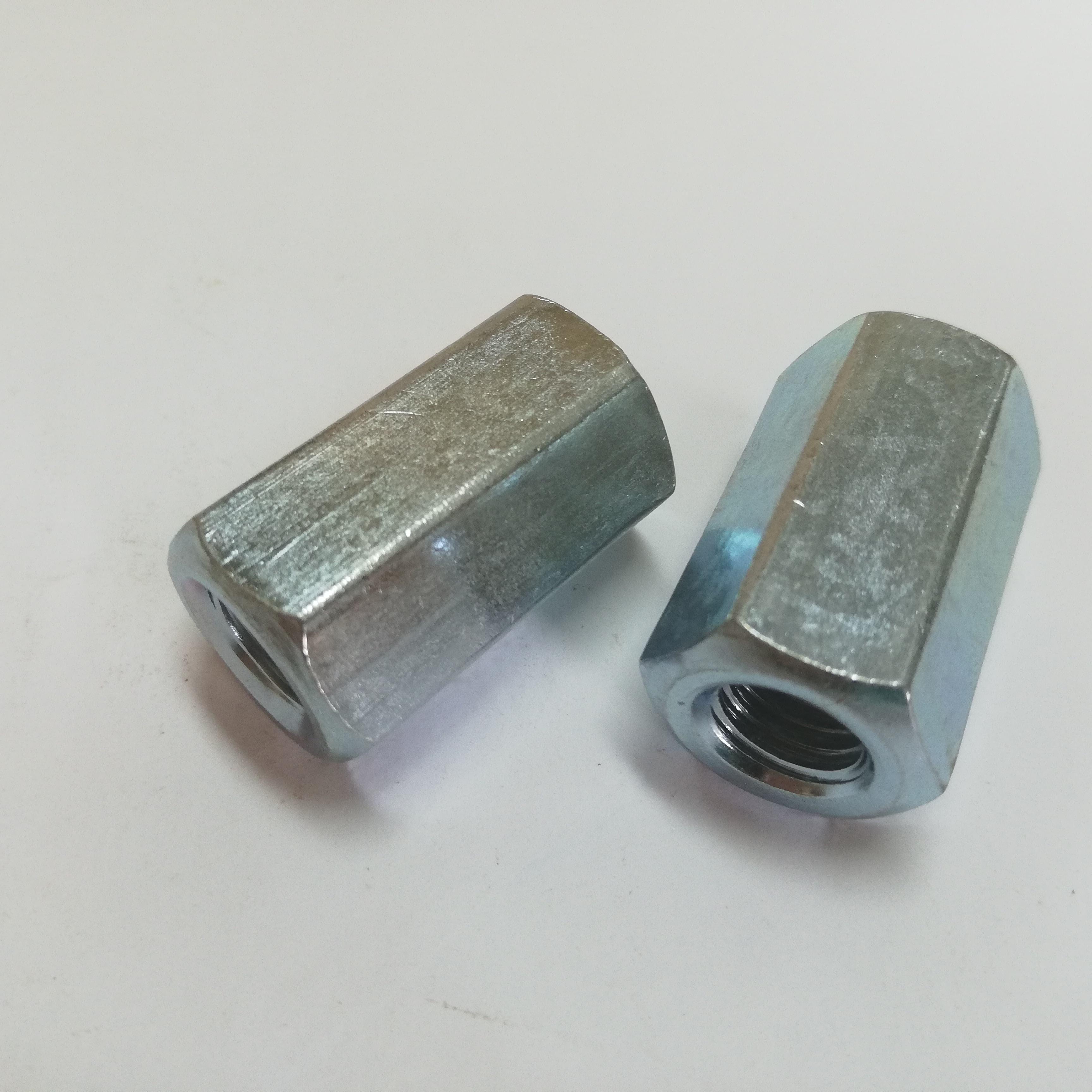 304 Runden Kupplungsmutter M5 M6 M8 M10 M12 M14 M16 Stange Verbindung Mutter