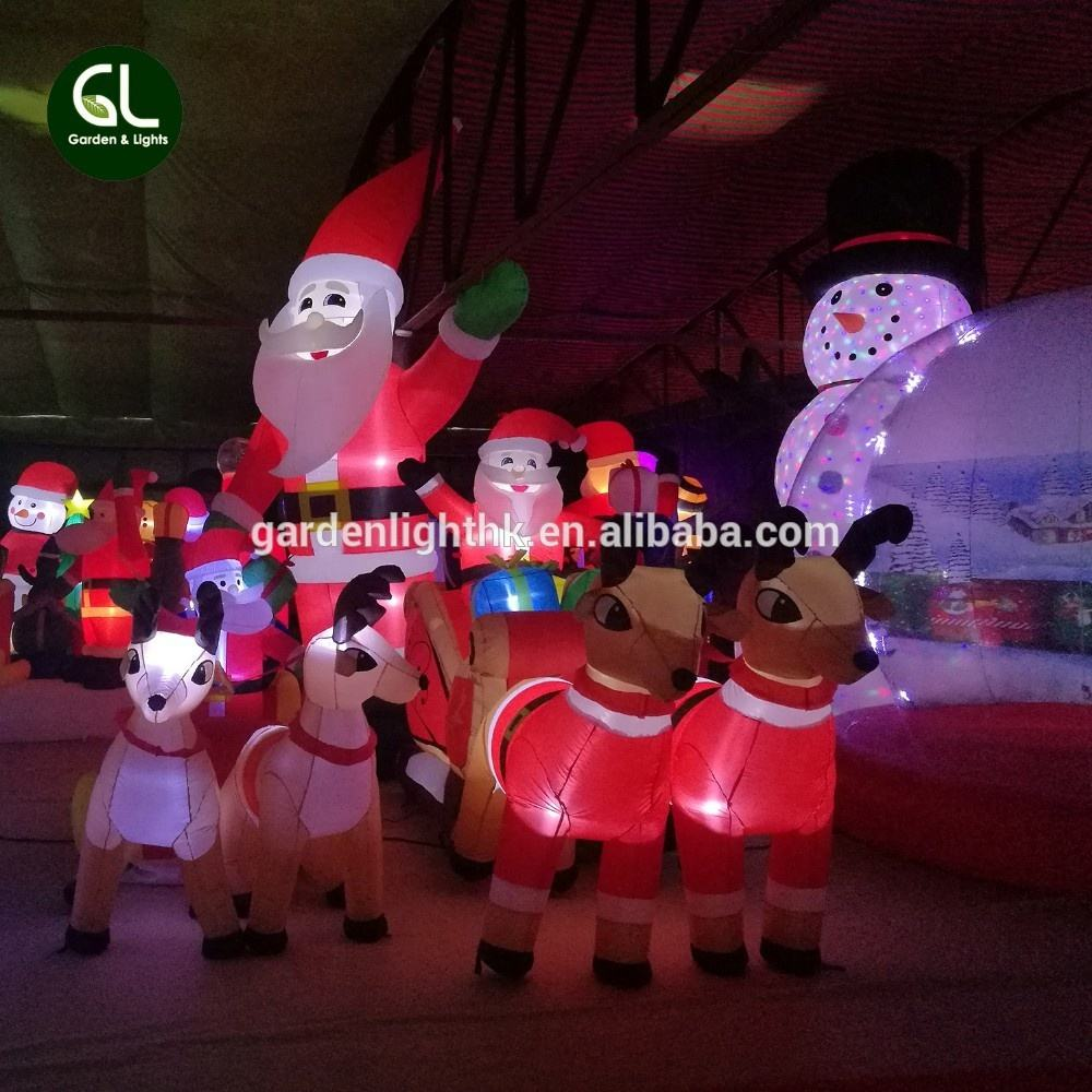 New Product 3ft Christmas inflatable homer santa inflatable, cheap outdoor christmas inflatables