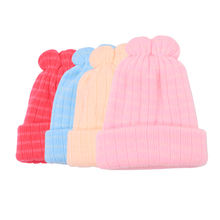 Soft beanie winter baby cashmere hat