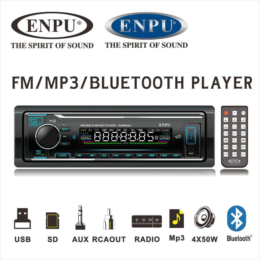 Pemutar MP3 <span class=keywords><strong>Bluetooth</strong></span> Mobil Desain <span class=keywords><strong>Kenwood</strong></span>, Radio FM