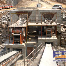 Mining equipment stone crushing plant basalt aggregate production line crusher machinery from China