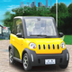 electric car kit for smart car chinese pure electric vehicle hot sale in china and europe eec