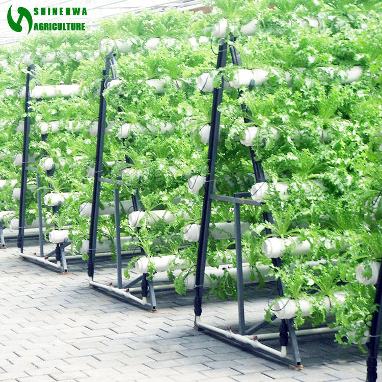 High Quality Hot Selling Commercial Hydroponics With Vertical NFT PVC Pipe