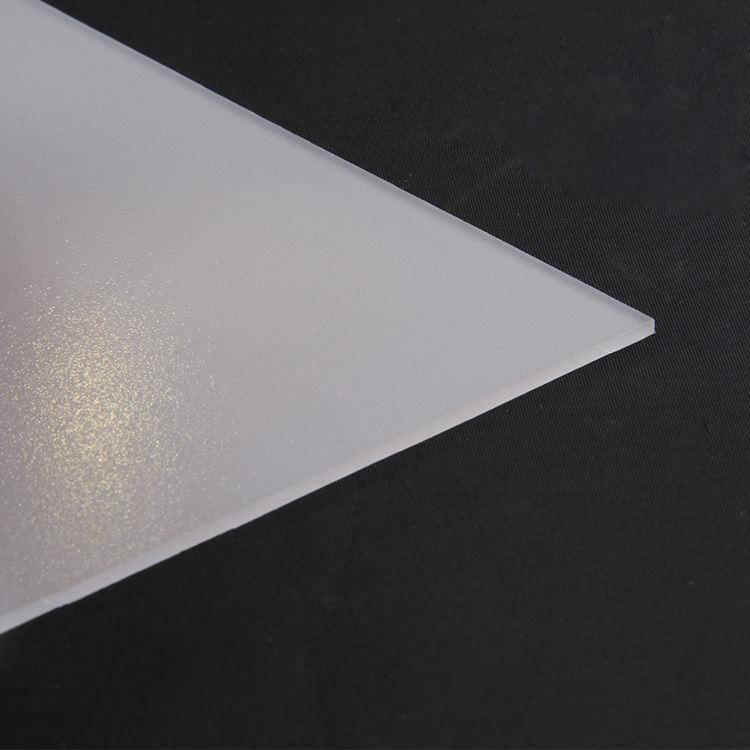 1.5mm 2mm 6mm 8mm colored white polycarbonate frosted sheet for building decoration