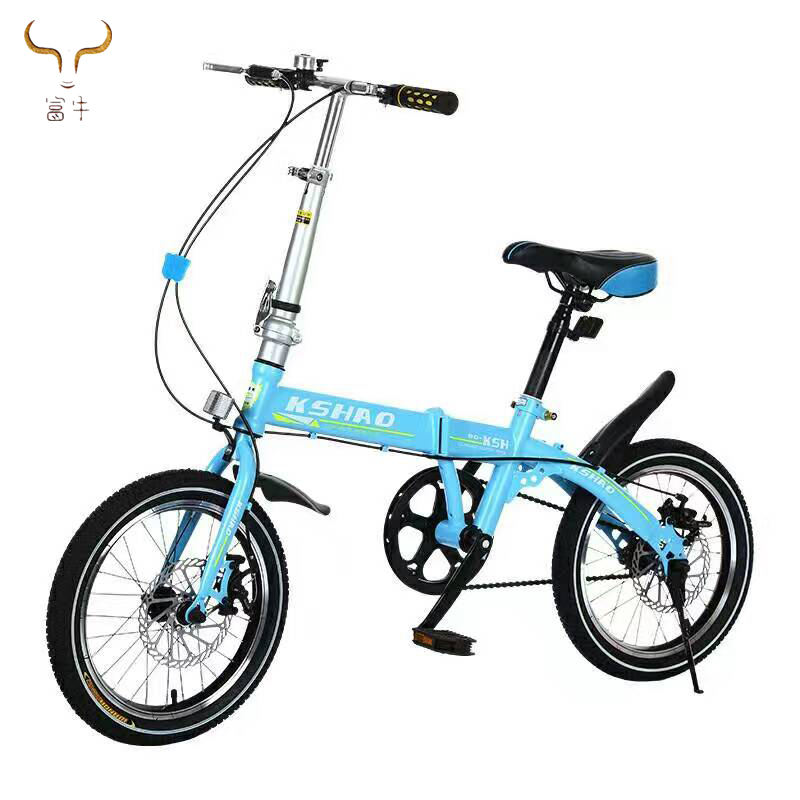 Alibaba china hot sale 20 inch student children folding bike/cheap 7 speed foldable bicycle/aluminium alloy folding cycle kids