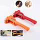 Emergency escape Safety Break hammer Vehicle Safety Hammer yellow and red color 230*85mm
