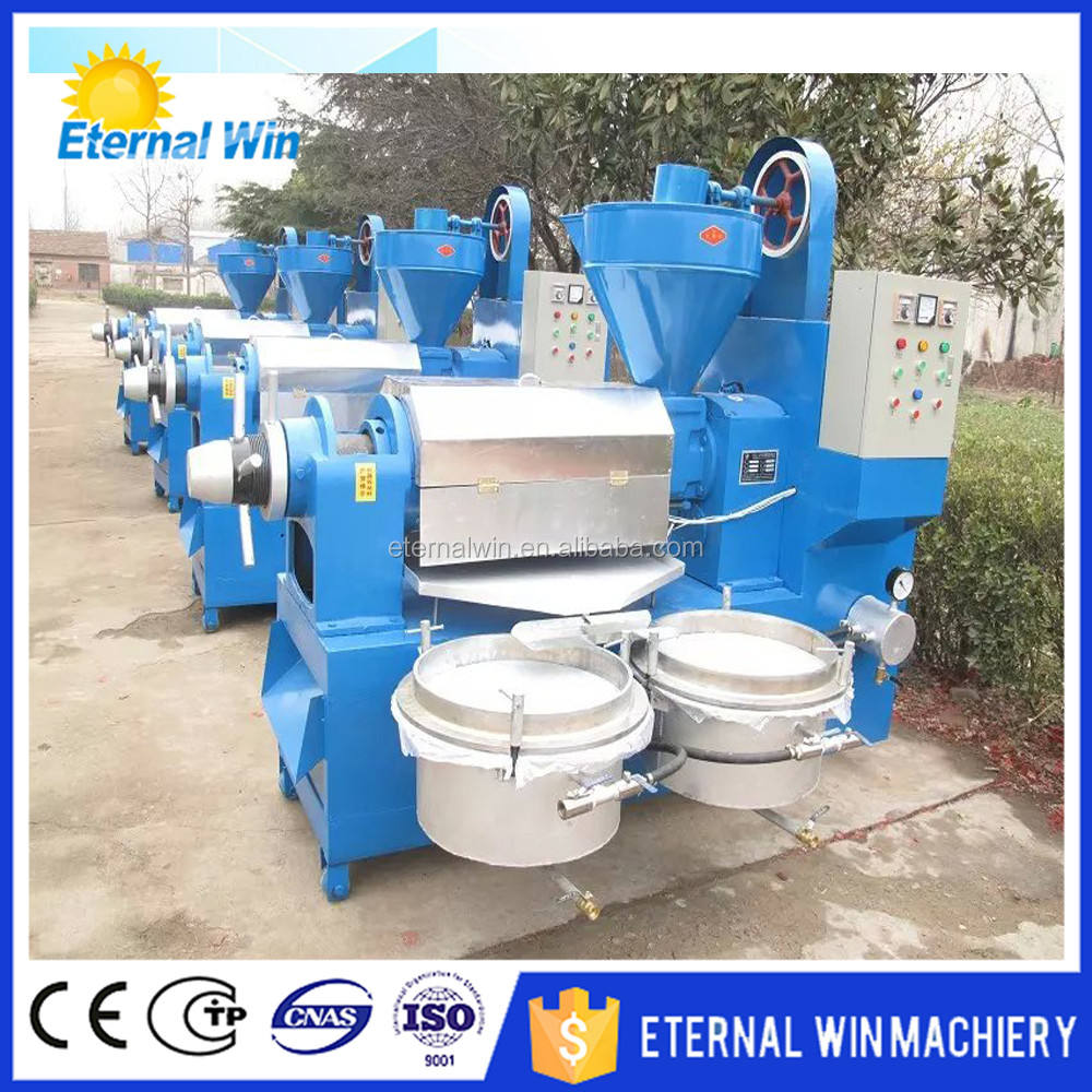 Factory price Screw soybean seed oil press machine, rapeseed/sunflower oil extractor, oil mill