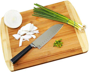Kitchen Totally Bamboo Cutting Board Logo