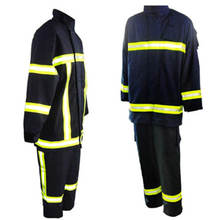 portable fireproof anti fire fighting protective clothing
