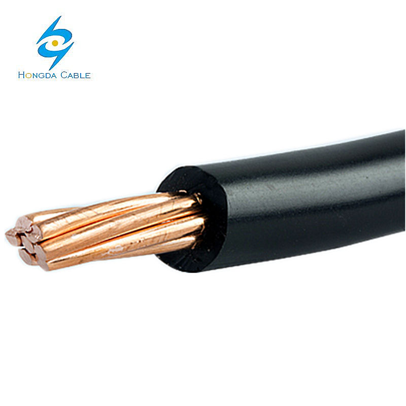 china hot sale American standard THW AWG 8#,10#,12#,14 PVC sheath copper wire supplier