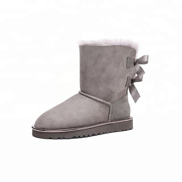 Australia Sheepskin Waterproof Star Style Ankle Boots/Shoes