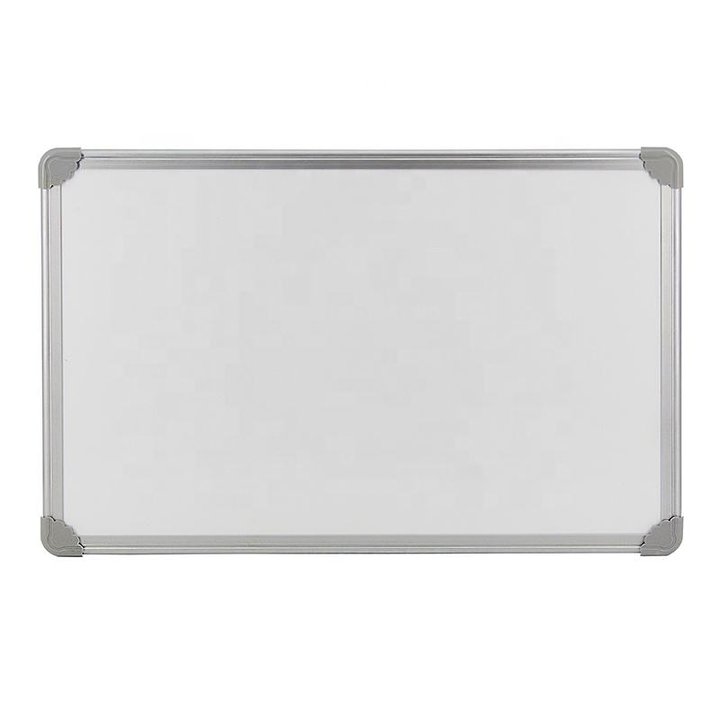 80*120cm Magnetic Double Side Dry Erase Wiping White Board In Aluminum Frame