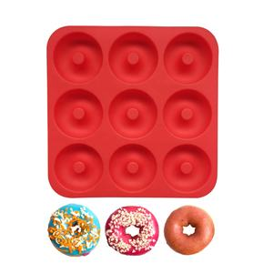 Amazon Hot 9 Rongga Food Grade Silikon Mini Donut Maker