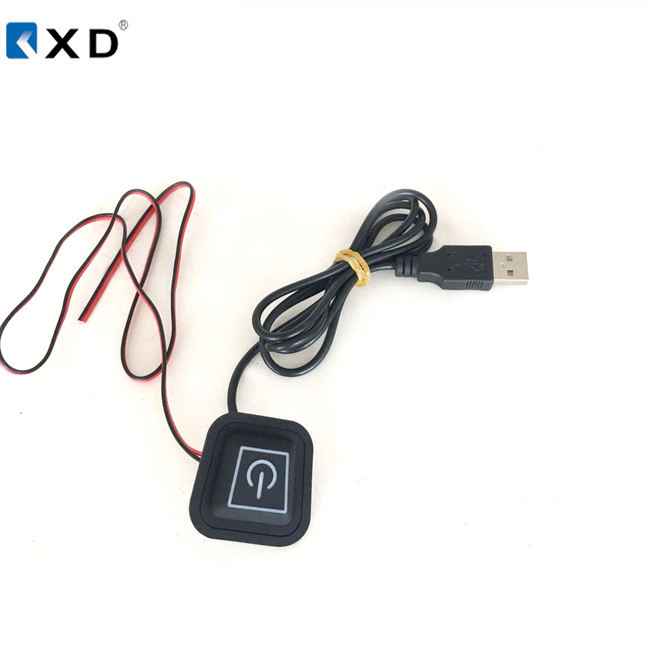 5v USB temperature switch usb controller push button for heated clothing