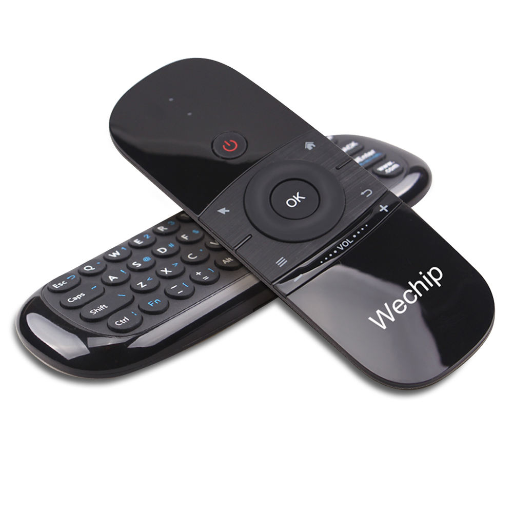 Newest Wechip W1 Air Mouse Wireless 2.4G Mini KeyboardためAndroid TV Box/Mini PC