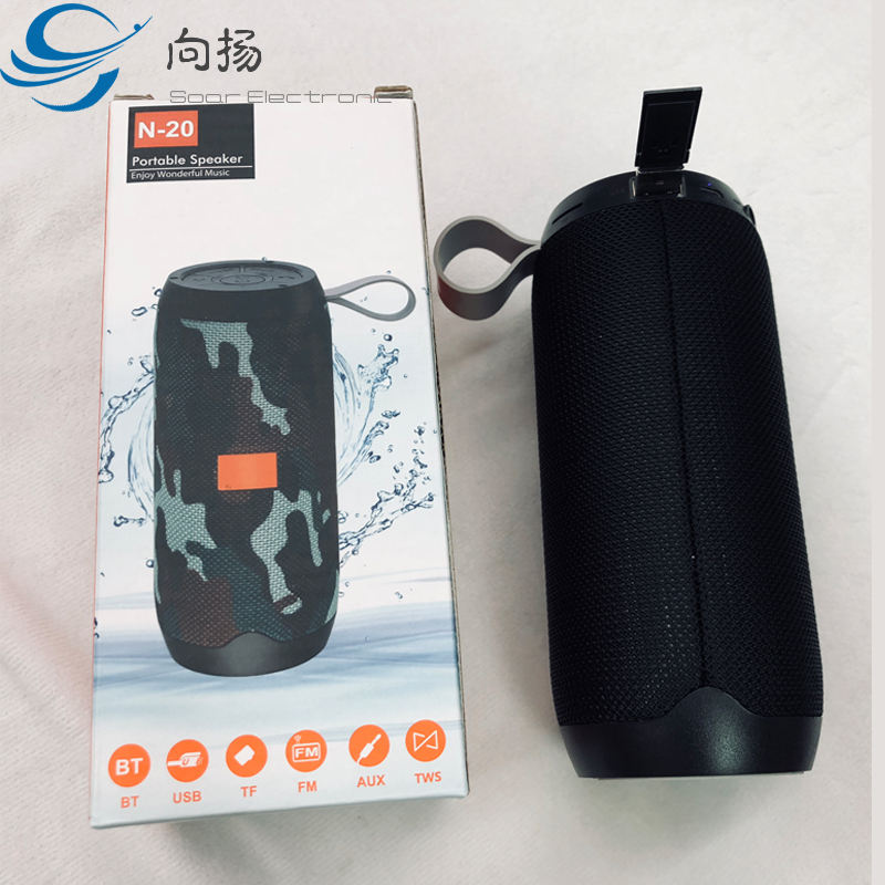 Grosir Murah Portable Mini Speaker Aktif Stereo Gigi Biru Outdoor Nirkabel Speaker USB OEM Dirancang Khusus Perangkat Audio