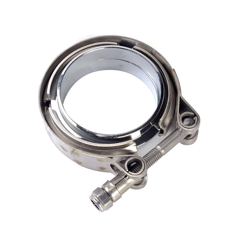 2.5 zoll Exhaust Pipe Flat Mild Steel Flange Stainless Steel Clamp V Band