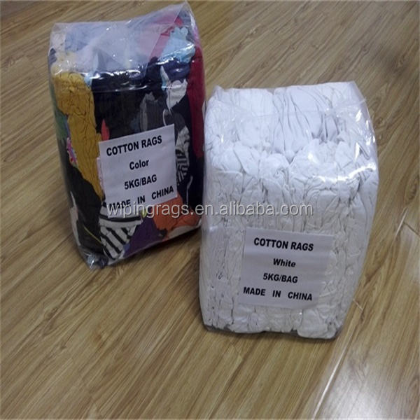 5 kg Industrial Use White Cotton Rags China