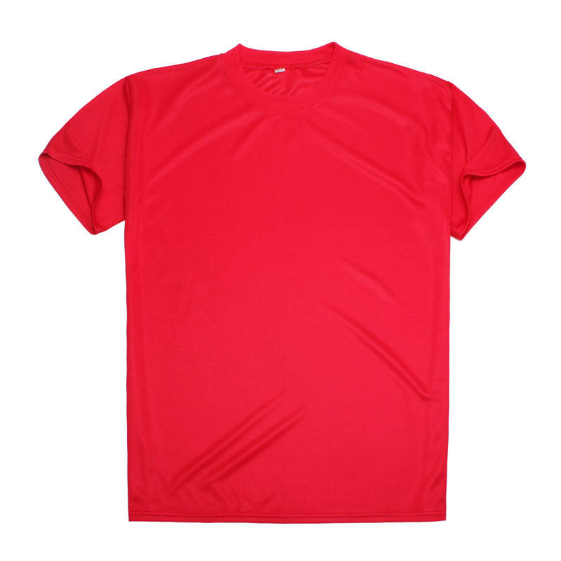High quality men 100%polyester round neck vote t-shirt customized oem color blank plain t shirt