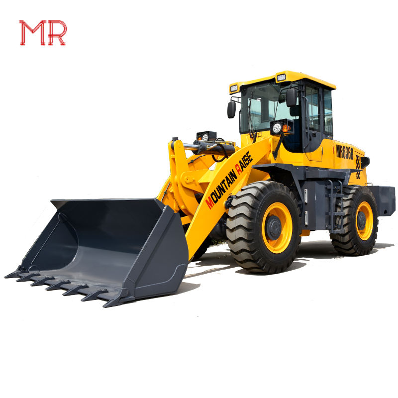 3 ton Big Front End Wheel Loader zl30 With Price