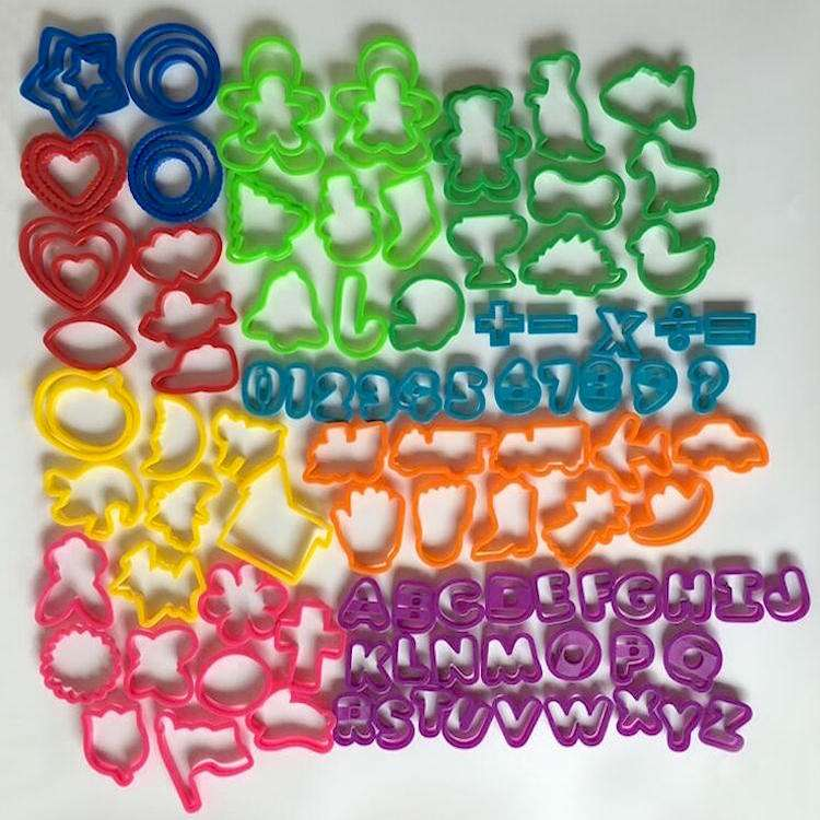 Multi-shape Plastic Cookie Cutters SW-BA6