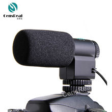 Promotional sensitive directional dslr camera speaker MIC 109