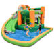 Wholesalers Big Floating Inflatable Water Combo Bouncy House Castle For Kid