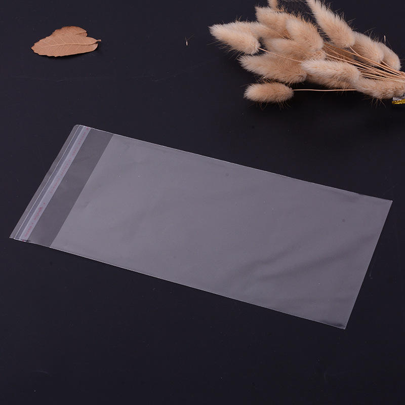 Wholesale Clear Self Seal Adhesive Cello Cellophane Resealable Plastic OPP Bag A3 A4 DL