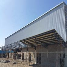 construction design prefabricated steel frame steel structure warehouse with installation