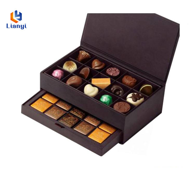 Made in china factory custom praline chocolate boxes
